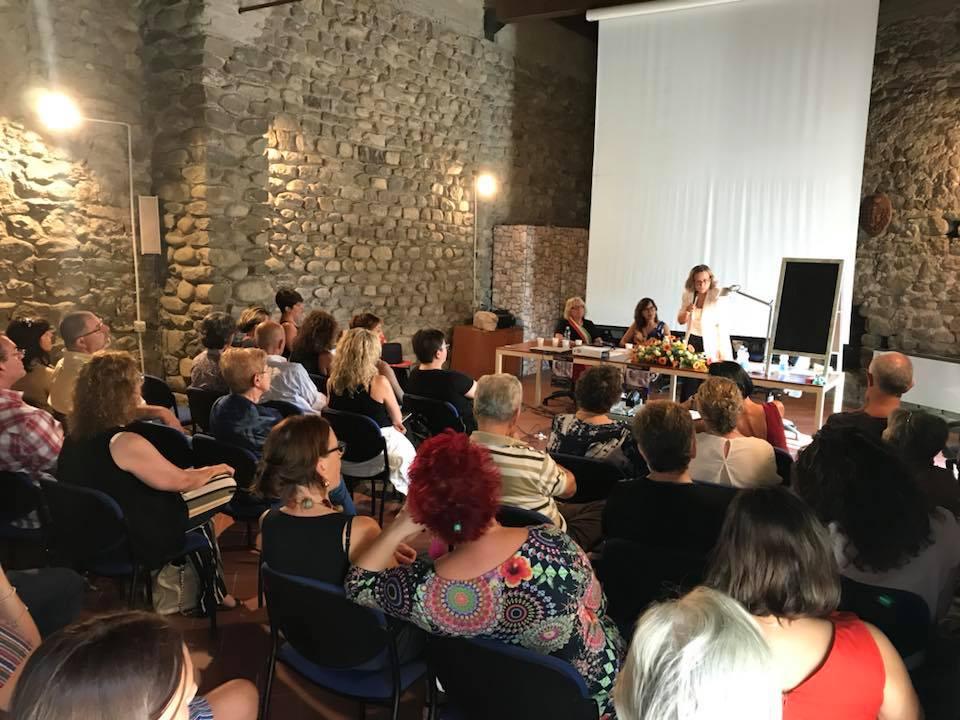 Conferenza di Francesca Biagi-Chai a Pontremoli – Luglio 2018